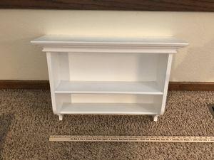 White wall shelf for Sale in Grand Ledge, MI