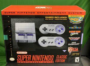 Nintendo Universal Super NES Classic Edition for Sale in Phoenix, AZ