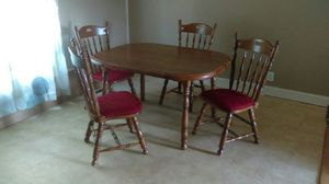 Solid Wood Dining Table for Sale in Raleigh, NC