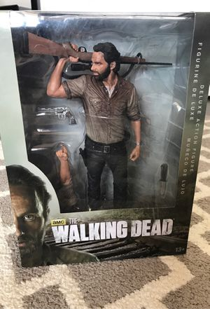 """McFarlane Toys The Walking Dead TV 10"""" Rick Grimes Deluxe Figure for Sale in San Diego, CA"""