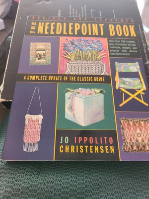 The needlepoint book by Jo Ippollito Christensen for Sale in Knoxville, TN
