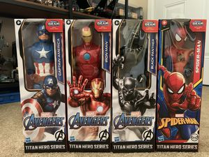 MARVEL AVENGERS & SPIDER-MAN: Titan Hero Series for Sale in Alhambra, CA