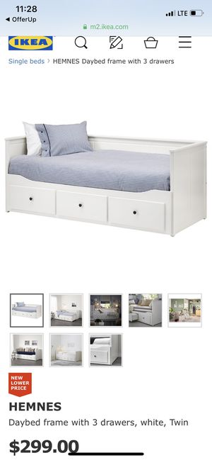 Twin bed with 3 storage for Sale in Silver Spring, MD