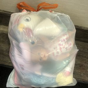Bag of Dolls and Teddy Bears for Sale in Brooklyn, NY