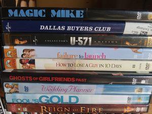 Matthew McConaughey dvd bundle for Sale in Aberdeen, WA