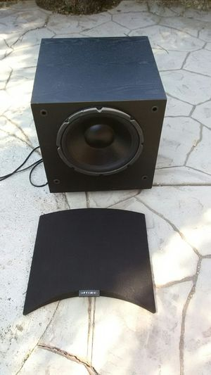 Optimus powered subwoofer 100 watts for Sale in Corona, CA