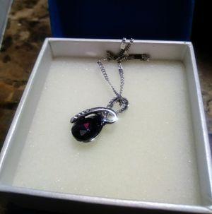 Purple Teardrop Pendant Necklace for Sale in Salinas, CA
