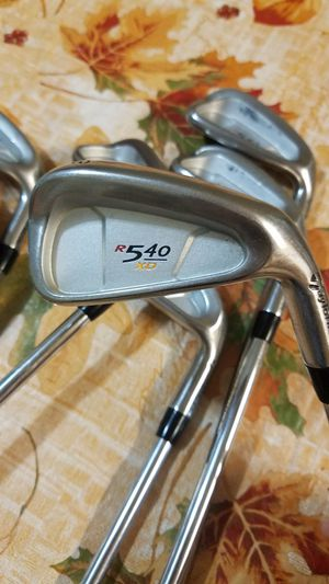 GREAT CONDITION! TAYLORMADE R540 XD GOLF CLUB IRON SET for Sale in Grand Prairie, TX