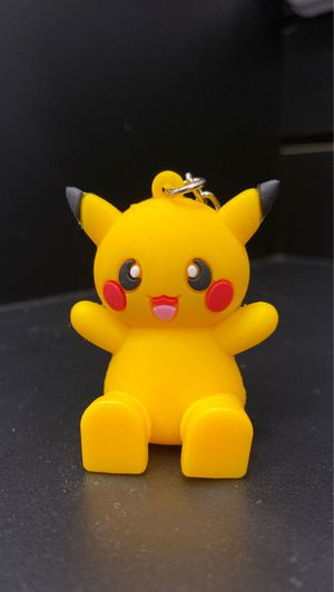 Pikachu pokemon cell phone holder keychain for Sale in Los Angeles, CA