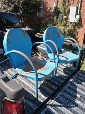 Antique Metal Chairs for Sale in Smyrna, TN