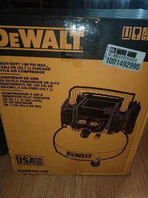 Dewalt compressor 6.0 gallons for Sale in Lutz, FL
