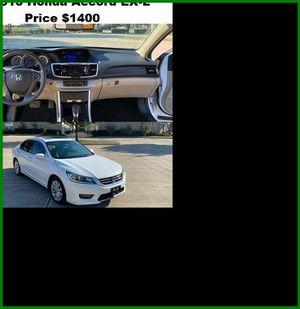 ֆ14OO_2013 Honda Accoard for Sale in San Diego, CA