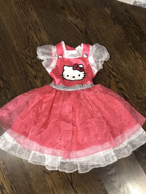 Hello Kitty Little Girl Costume for Sale in Schaumburg, IL