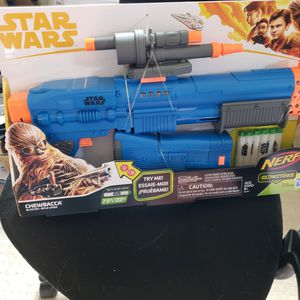 New Nerf Star Wars Chewbacca Gun for Sale in Anaheim, CA