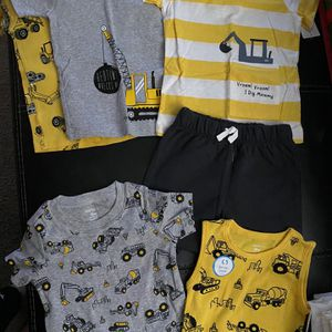 Carters Baby Construction Vehicle Outfits for Sale in Tyngsborough, MA