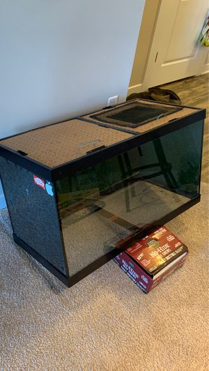 Fish tank - reptile enclosure for Sale in Hanover, MD