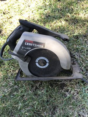 Craftsman circular power saw for Sale in Monrovia, CA