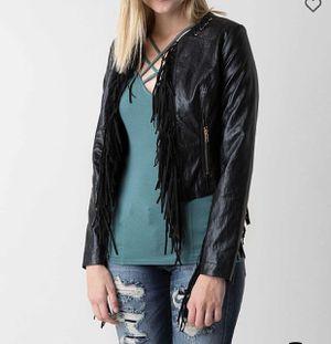 Fringe Black Jacket for Sale in Greenfield, IN