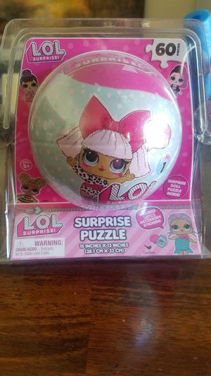 L.O.L. Surprise 60 pieces puzzle for Sale in San Diego, CA