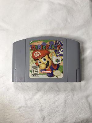 Nintendo 64 Mario party for Sale in Modesto, CA