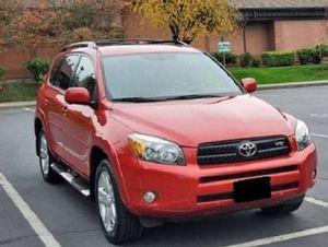 Red 2007 Toyota Rav4 Sport 4WDWheels for Sale in Fremont, CA