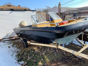 Mini boat fishing boat for Sale in Dearborn Heights, MI