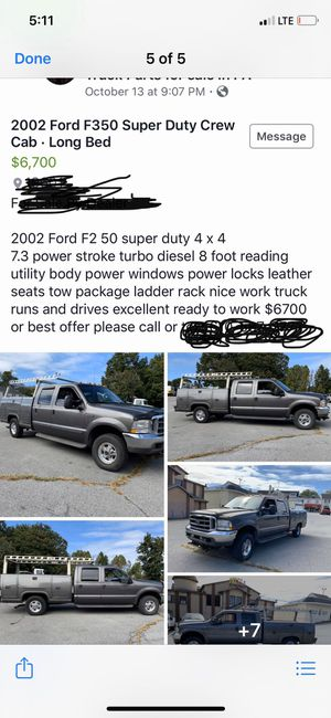 2002 Ford F 350 for Sale in Dundalk, MD
