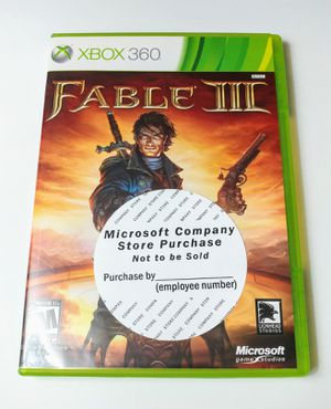 Fable 3 (2010) Xbox 360 Game Complete (Pre-owned) for Sale, used for sale  Doylestown, PA