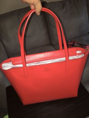 Kate Spade Prikly Pear Violeta White Street Leather Tote for Sale in Houston, TX