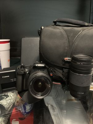 Canon T3 Rebel Camera for Sale in Jersey City, NJ