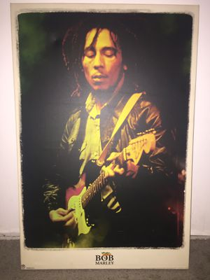 Bob Marley poster for Sale in Phoenix, AZ