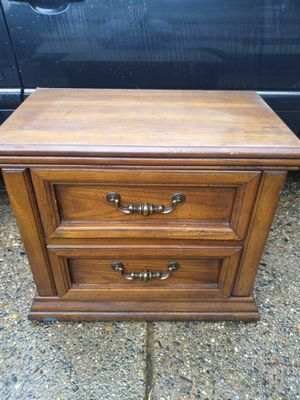 Small end table dresser -w- 2 small drawers for Sale in Philadelphia, PA