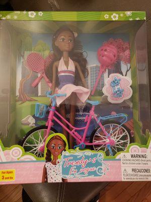 Trendys black doll play set for Sale in Philadelphia, PA