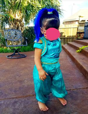 Shimmer and shine costume size 2-3 for Sale in Fort Worth, TX