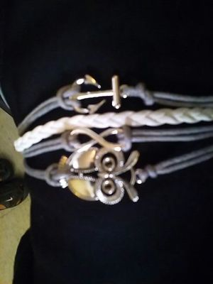 Infinity Owl Charm Bracelet for Sale in El Paso, TX