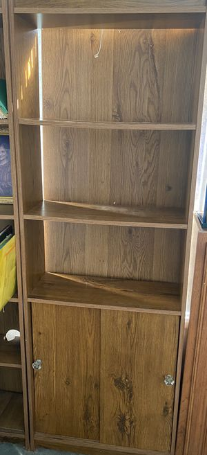 Composite/laminate bookshelves with storage for Sale in City of Industry, CA
