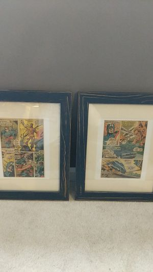 Framed comic set for Sale in Stow, OH