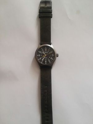 Men's Timex Expedition Watch with woven fabric leather trimmed wristband for Sale for sale  Albuquerque, NM