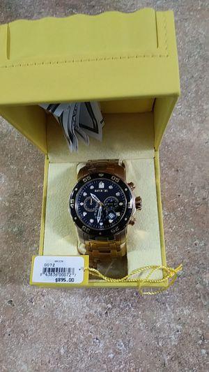 Invicta model 0072 50 mm case gold for Sale in Kirkland, WA