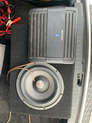 Focal subwoofer Alpine amplifier for Sale in Milwaukie, OR