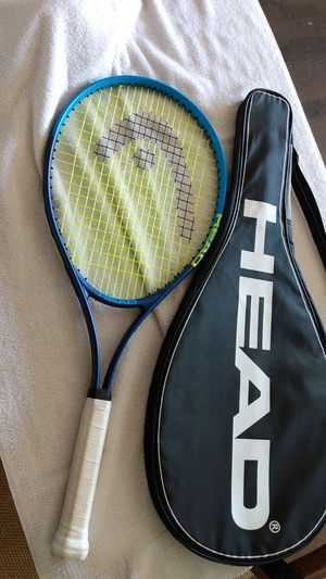 Head Conquest Nano Titanium Tennis Racquet & Carry bag for Sale in Centralia, WA
