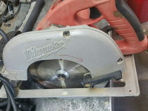 Milwaukee tilt lock circular saw model 6391 for Sale in Guadalupe, AZ