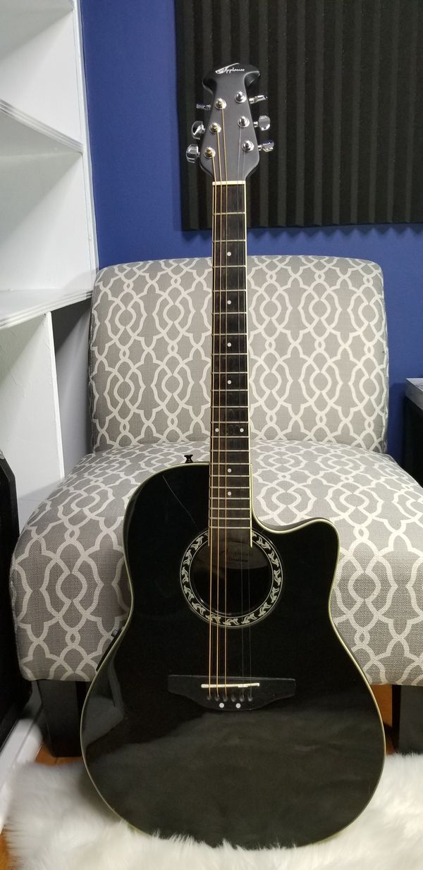 Applause by Ovation AE128 - Acoustic-Electric Guitar - Black