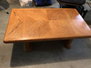 Solid wood coffee table for Sale in Charlottesville, VA