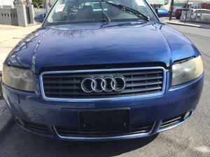 2004 AUDI A4 convertible for PARTS ENGINE TRANSMISSION DOOR TRUNK LIGHTS for Sale in Brooklyn, NY