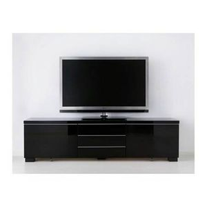 Nice entertainment black with storage for $450 for Sale in Dallas, TX