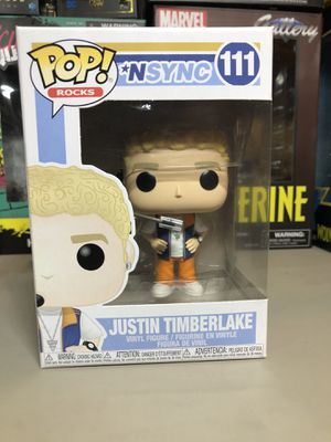 Funko nsync POP Justin Timberlake Action Figure Collectible for Sale in Long Beach, CA