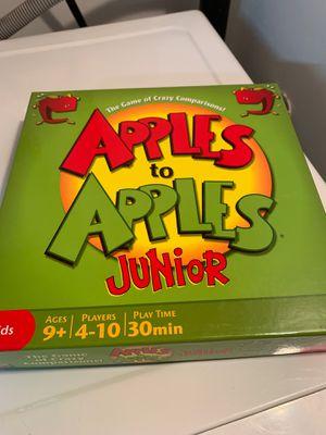 Apples to Apples Junior Board Game for Sale in La Mesa, CA