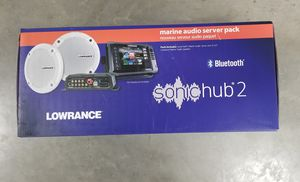 Lowrance Marine Audio Server Pack for Sale in Pilot Mound, IA