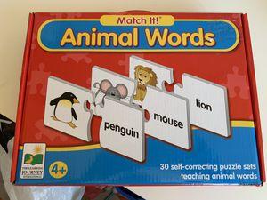 Match it game for Sale in Falls Church, VA